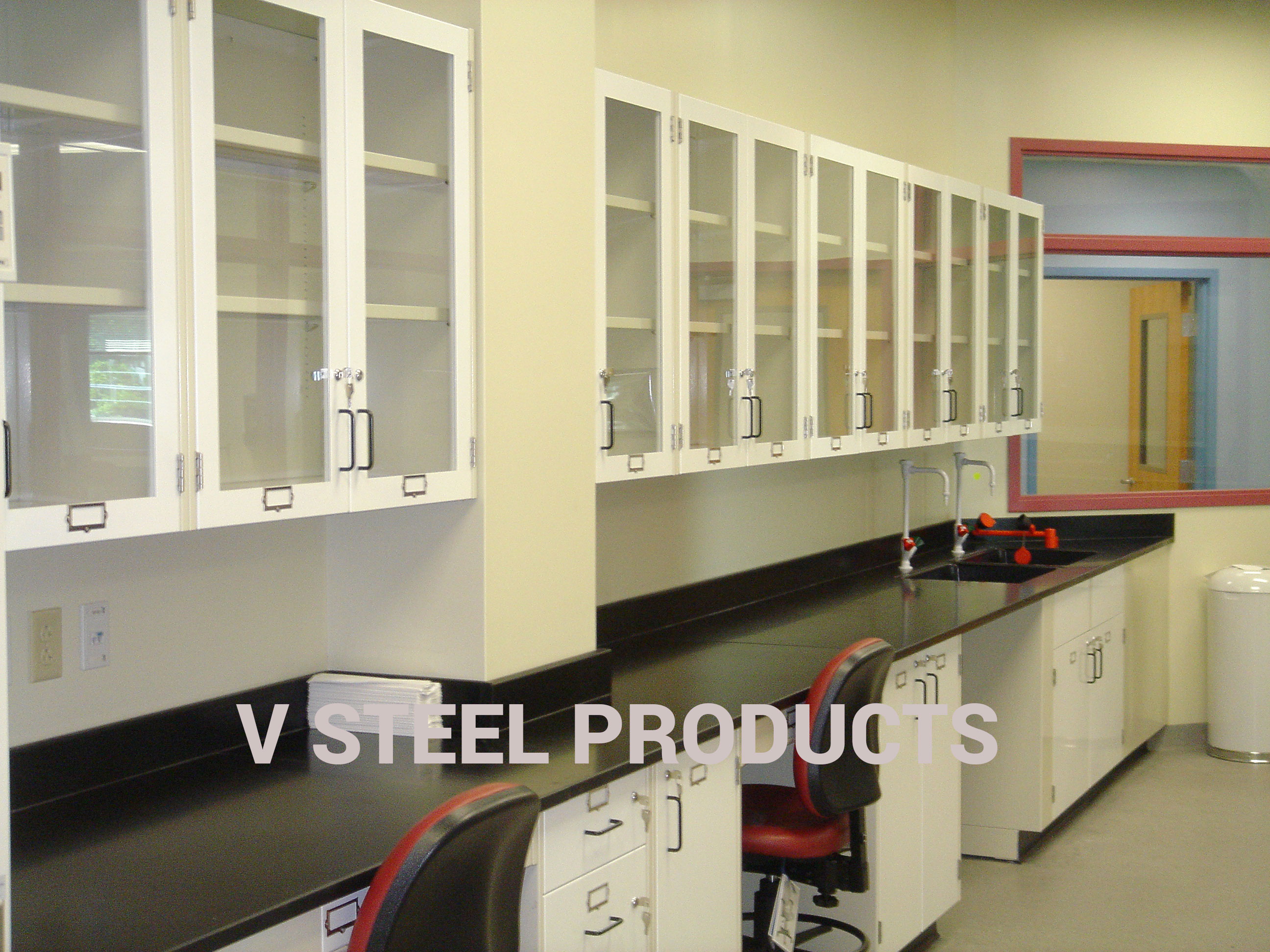Wall Benches and Overhead Storage Units